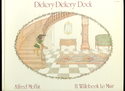 Image for DICKORY DICKORY DOCK / CURLY LOCKS / FOUR AND TWENTY TAILORS.  3 BOOKS.