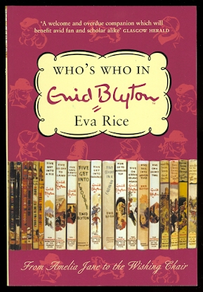Image for WHO'S WHO IN ENID BLYTON.  REVISED EDITION.