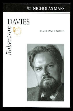 Image for ROBERTSON DAVIES: MAGICIAN OF WORDS.