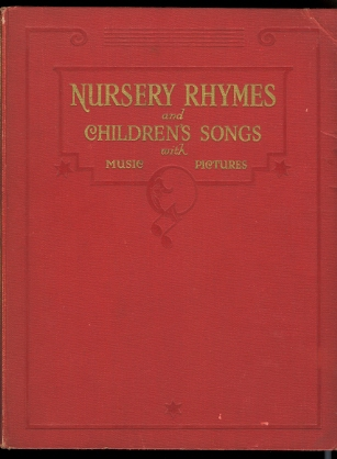 Image for NURSERY RHYMES AND CHILDREN'S SONGS WITH MUSIC AND PICTURES.