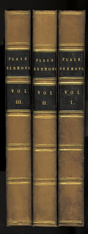 Image for PLAIN SERMONS PREACHED IN A VILLAGE CHURCH.  3 VOLUME SET.