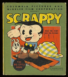 Image for SCRAPPY.  COLUMBIA PICTURES AND WINKLER FILM PRODUCTIONS PRESENTS.  BIG LITTLE BOOK 1122.