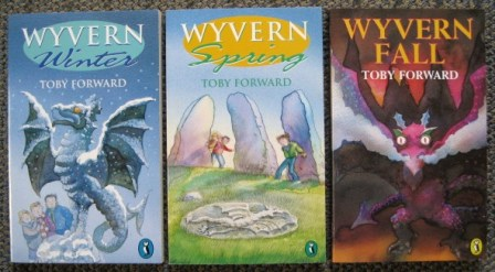Image for WYVERN WINTER / WYVERN SPRING / WYVERN FALL.  3 VOLUMES OF 4.