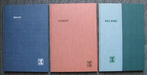 Image for BEULAH / TOMMY / 952 KING: A CHRISTMAS EVE STORY.  3 VOLUMES.