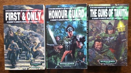 Image for GAUNT'S GHOSTS.  THREE NOVELS FROM THE SERIES: 1. FIRST & ONLY; 2. HONOUR GUARD; 3. THE GUNS OF TANITH.  WARHAMMER 40,000.