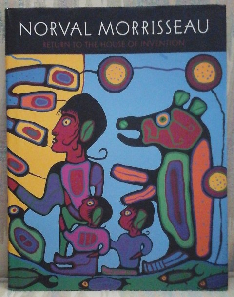 Image for NORVAL MORRISSEAU:  RETURN TO THE HOUSE OF INVENTION.