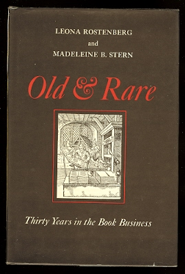 Image for OLD & RARE:  THIRTY YEARS IN THE BOOK BUSINESS.