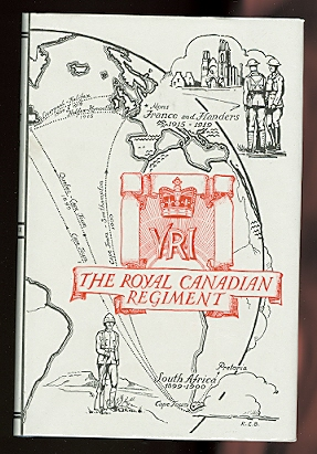Image for THE ROYAL CANADIAN REGIMENT, 1883-1933.