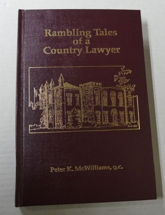 Image for RAMBLING TALES OF A COUNTRY LAWYER.