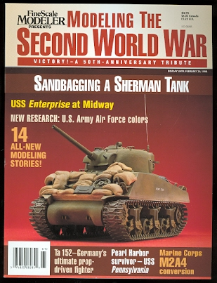Image for MODELING THE SECOND WORLD WAR:  VICTORY! - A 50th ANNIVERSARY TRIBUTE.  FINESCALE MODELER. 1996.