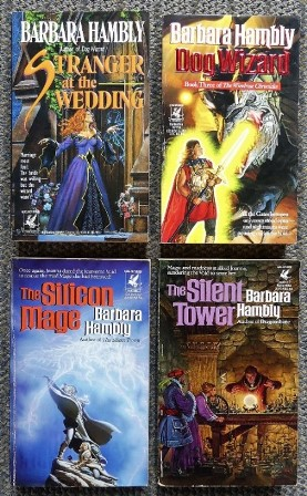 Image for THE WINDROSE CHRONICLES.  1. THE SILENT TOWER.  2. THE SILICON MAGE.  3. DOG WIZARD.  4. STRANGER AT THE WEDDING.  4 VOLUMES.