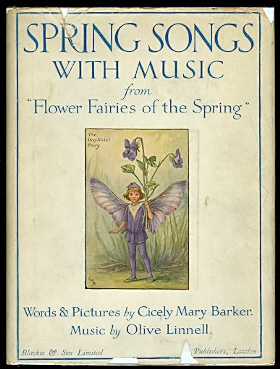 "Image for SPRING SONGS WITH MUSIC FROM ""FLOWER FAIRIES OF THE SPRING""."