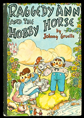 Image for RAGGEDY ANN AND THE HOBBY HORSE.