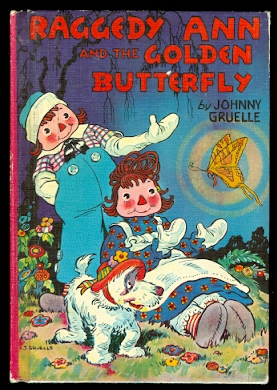 Image for RAGGEDY ANN AND THE GOLDEN BUTTERFLY.
