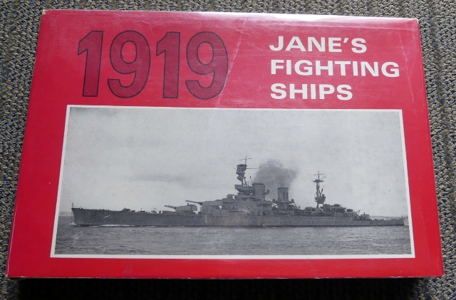 Image for JANE'S FIGHTING SHIPS 1919.  A REPRINT OF THE 1919 EDITION OF FIGHTING SHIPS.