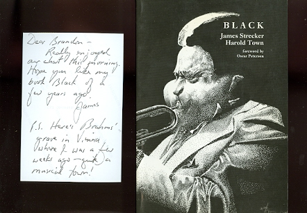 Image for BLACK:  A TRIBUTE TO BLACK JAZZ MUSICIANS.