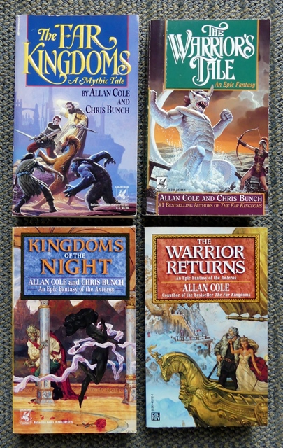 Image for ANTEROS QUARTET.  1. THE FAR KINGDOMS.  2. THE WARRIOR'S TALE.  3. KINGDOMS OF THE NIGHT.  4. THE WARRIOR RETURNS.  (THE FAR KINGDOMS SERIES).  4 VOLUME SET.
