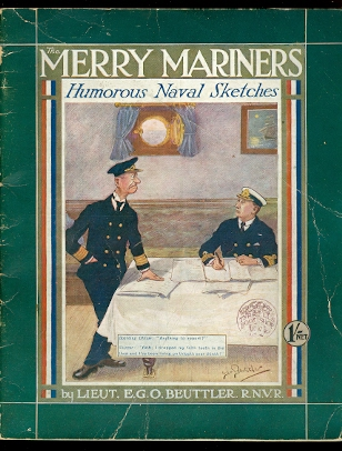 Image for THE MERRY MARINERS.  HUMOROUS NAVAL SKETCHES.