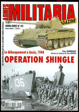 Image for ARMES MILITARIA MAGAZINE.  HORS-SERIE No 45.  LE DEBARQUEMENT A ANZIO, 1944:  OPERATION SHINGLE.