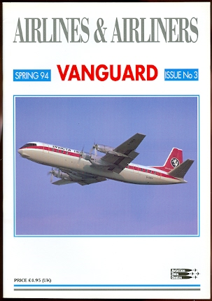 Image for AIRLINES & AIRLINERS.  SPRING 94.  ISSUE No. 3.  VANGUARD.