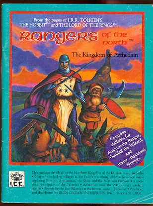 Image for RANGERS OF THE NORTH.  THE KINGDOM OF ARTHEDAIN.  ME 3000.