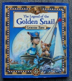 Image for THE LEGEND OF THE GOLDEN SNAIL.