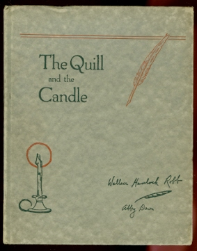 Image for THE QUILL AND THE CANDLE:  POEMS OF BIRDLAND IN CANADA.