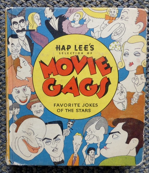 Image for HAP LEE'S SELECTION OF THE BEST MOVIE GAGS HEARD AMONG THE STARS.  ILLUSTRATED WITH SCENES FROM FAMOUS PHOTOPLAYS.
