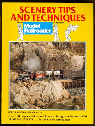 Image for SCENERY TIPS AND TECHNIQUES FROM MODEL RAILROADER MAGAZINE.  MODEL RAILROAD HANDBOOK NO. 26.