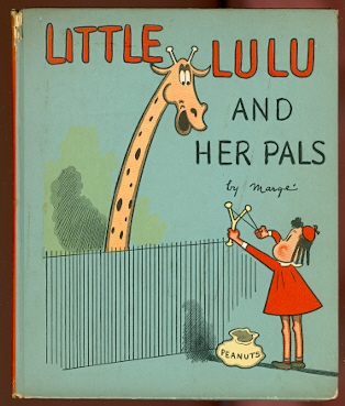 Image for LITTLE LULU AND HER PALS.