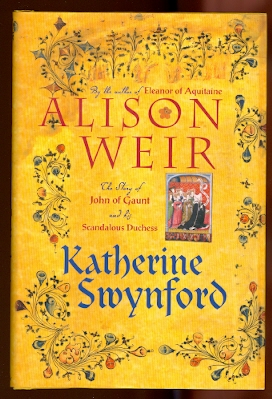 Image for KATHERINE SWYNFORD:  THE STORY OF JOHN OF GAUNT AND HIS SCANDALOUS DUCHESS.