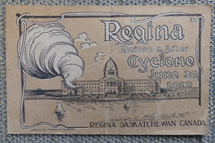 Image for REGINA BEFORE & AFTER CYCLONE, JUNE 30, 1912.