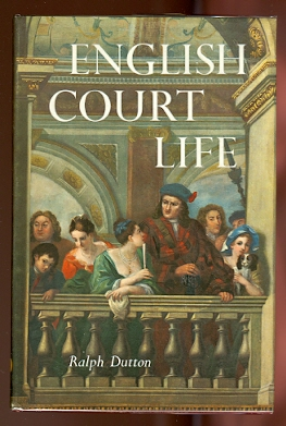 Image for ENGLISH COURT LIFE, FROM HENRY VII TO GEORGE II.