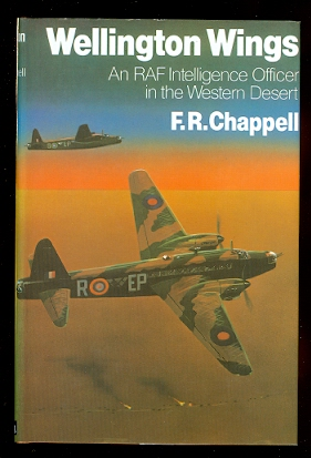 Image for WELLINGTON WINGS:  AN RAF INTELLIGENCE OFFICER IN THE WESTERN DESERT.