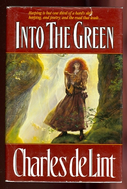 Image for INTO THE GREEN.