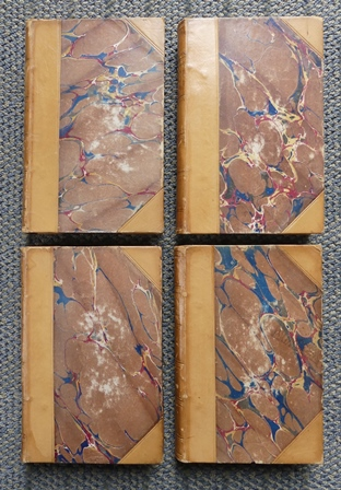 Image for THE POETICAL WORKS OF WILLIAM WORDSWORTH.  A NEW EDITION IN FOUR VOLUMES.  (DECORATIVE BINDINGS.)