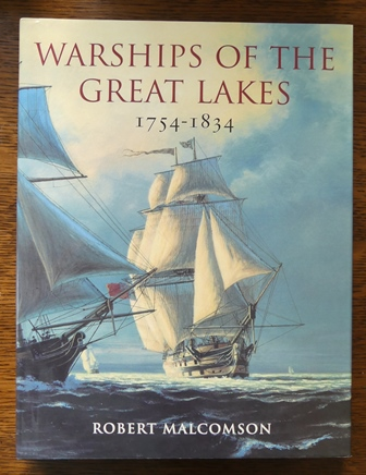 Image for WARSHIPS OF THE GREAT LAKES 1754-1834.