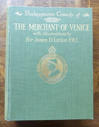 Image for SHAKESPEARE'S COMEDY OF THE MERCHANT OF VENICE.