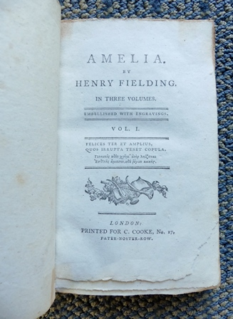 Image for AMELIA.  3 VOLUME SET.