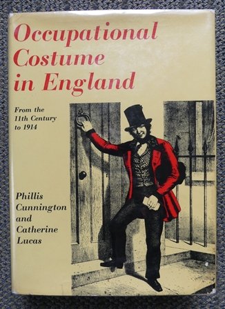 Image for OCCUPATIONAL COSTUME IN ENGLAND FROM THE ELEVENTH CENTURY TO 1914.