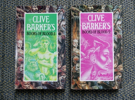 Image for CLIVE BARKER'S BOOKS OF BLOOD VOLUME I and VOLUME II.  (VOLUMES 1 & 2)