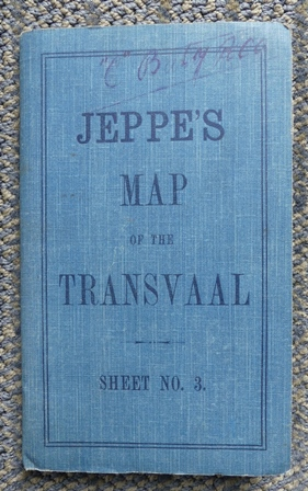 Image for JEPPE'S MAP OF THE TRANSVAAL.  SHEET NO. 3  (NORTH-EAST SECTION.)