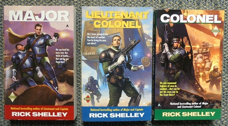 Image for DIRIGENT MERCENARY CORPS SERIES - FINAL 3 VOLUMES.  1. MAJOR.  2. LIEUTENANT COLONEL.  3. COLONEL.  3 BOOKS IN TOTAL.