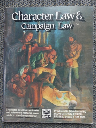Image for CHARACTER LAW & CAMPAIGN LAW.  STOCK # RM 1300.