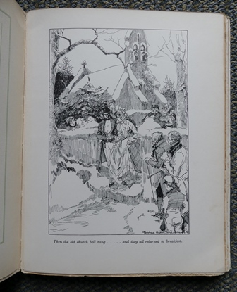 Image for MR. PICKWICK'S CHRISTMAS.  BEING AN ACCOUNT OF THE PICKWICKIANS' CHRISTMAS AT THE MANOR FARM, OF THE ADVENTURES THERE; THE TALE OF THE GOBLIN WHO STOLE A SEXTON, AND OF THE FAMOUS SPORTS ON THE ICE.