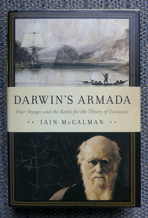 Image for DARWIN'S ARMADA:  FOUR VOYAGES AND THE BATTLE FOR THE THEORY OF EVOLUTION.