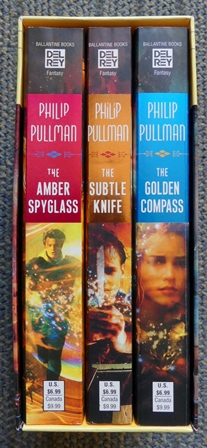 Image for HIS DARK MATERIALS TRILOGY.  BOOK I. THE GOLDEN COMPASS.  BOOK II. THE SUBTLE KNIFE.  BOOK III. THE AMBER SPYGLASS.  3 VOLUMES IN SLIPCASE.