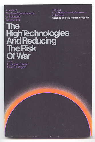 Image for THE HIGH TECHNOLOGIES AND REDUCING THE RISK OF WAR.