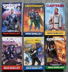 Image for DIRIGENT MERCENARY CORPS.  6 VOLUME SET.  1. OFFICER CADET.  2. LIEUTENANT.  3. CAPTAIN.  4. MAJOR.  5. LIEUTANANT COLONEL.  6. COLONEL.
